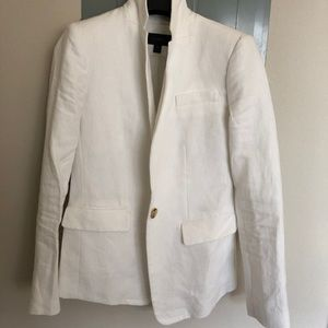 J Crew Regent Blazer 0 Petite white